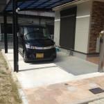 玄関前駐車スペース&ポスト